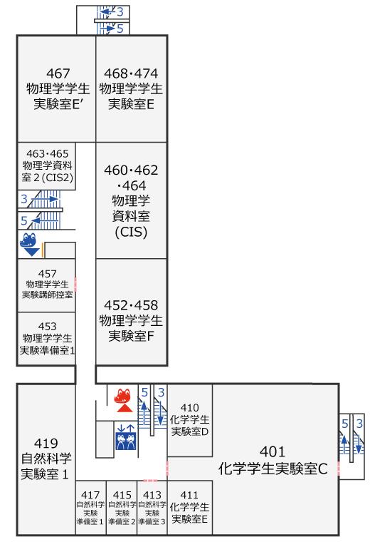 実験棟2階